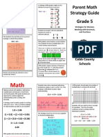 grade 5 parent math strategy guide