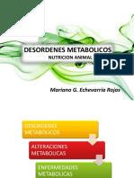 Desordenes Metabolicos - Nutricion Animal - Copia