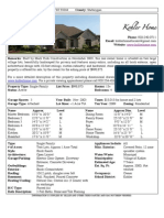 Kohler Home Sales Flyer