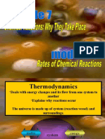 Chemical Reactions and Why They Take Place (Module 7) & Rates of Chemical Reactions (Module 8)