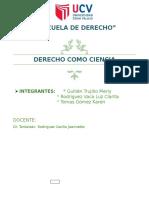 Derecho Como Ciencia - Introduccion Al Derecho Exposicion