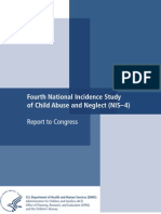 Fourth National Incidence Study of Child Abuse and Neglect (NIS-4) Report to Congress 2010