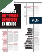 Legislar sobre las industrias creativas en México. Entrevista con el diputado Vidal Llerenas