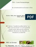 Medicina Alternativa Na Europa e Asia