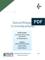 Discrete-OPM Cost Report Integration v4.0