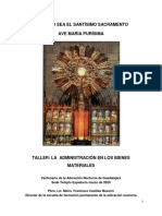 Taller 4 - La Administracion en Los Bienes Materiales