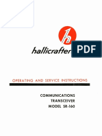 094-90356 Hallicrafters SR-160 Operating and Service Instructions Dec63