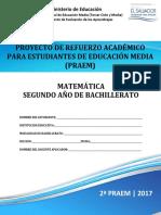 2da Prueba Avance Matemática 2do Año (PRAEM 2017).pdf