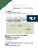 Laboratorio 1 Modelo Relacional