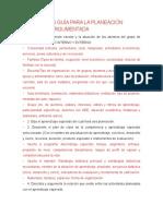 Enunciados Guía Para La Planeación Didáctica Argumentada