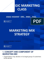 Marketing Mix Strategy - Presentation