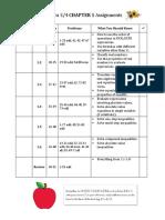 a34 ch 1 assignment sheet
