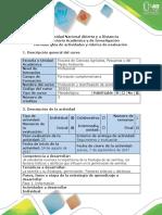 Guia de Actividades y Rubrica de La Evaluación Fase 1. Informacion.