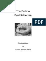 Harada Shodo the Path to Bodhidharma