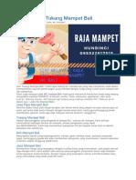 Jasa wc mampet Bali - Raja Mampet - 085322617515