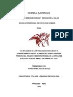 Estructura de La Presentacion de Proyecto de Investigacion