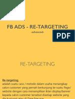 Fb ads remarketnnig