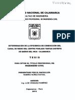 Eficencia de Riegos-cajamarca