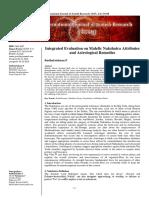 Nakshatra Research Article on Gandanta Etc