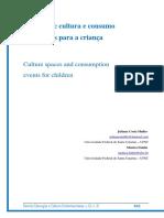Cça e Eventos Culturais - Rev Contemporanea - MULLER, FANTIN
