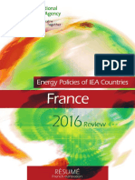 Energy Policies of IEA Countries France 2016 Review Executive Summary French