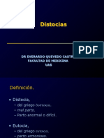 Distocias Estaticas y Dinamicas
