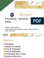 Siderurgia - Alto Forno