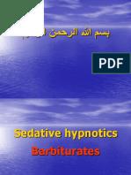 Sedative hypnotics- Barbiturates.ppt