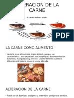 Alteracion de La Carne
