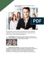 Las 5 Habilidades Esenciales a Desarrollar Para Ser Un Empresario Exitoso