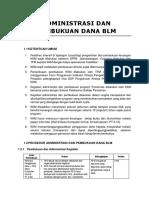 Administrasi Dan Pembukuan Dana Blm