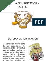 Sistema de Lubricacion Del Motor de Combustion