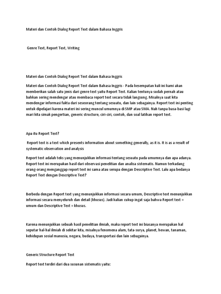 Contoh Dialog Dalam Bahasa Inggris - Simak Gambar Berikut