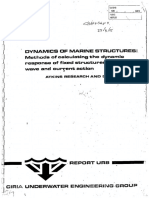 Dynamics of Marine Structures