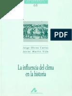 CH-068 - La Influencia Del Clima en La Historia