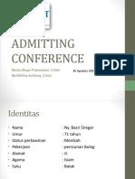 Admitting Conference Tn Basri