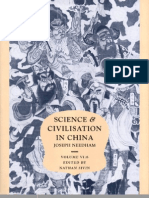 Science and Civilisation in China-chinese Medicine by Joseph Needham
