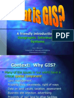 What is GIS