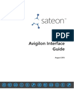 Avigilon Interface Guide 2.0