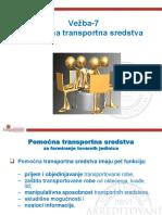 Vežba 07- Transport