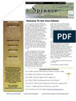 January 2008 the Spinner Newsletter, Clackamas River Troust Unlimited