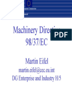 Machinery Directive 98-37-EC, Guide