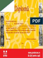 Diploma Cine a Fost 2017