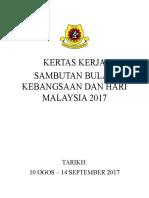 Kertas Kerja Sambutan Bulan Kemerdekaan (Autosaved) (Autosaved)