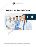 Psychological Perspective in Health and Social Care services