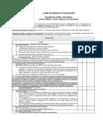 Requisitos Bolivia Pregrado + Instructivo