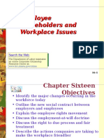 OB 33 BS 16 Employee Stakeholders and Workplace Issues