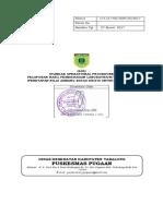 Sop Pelaporan Hasil Pemeriksaan Laboratrium Yang Kritis (Penetapan Nilai Ambang Batas Kritis Untuk Setiap Tes)