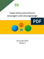 Klasse Vorrunde 2014 (1)