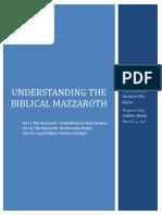 Mazzaroth - 2012 Study